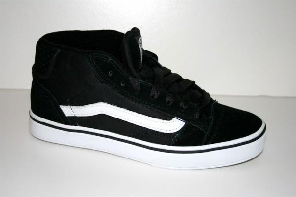 Vans Schuhe No Skool Mid 2 black-white