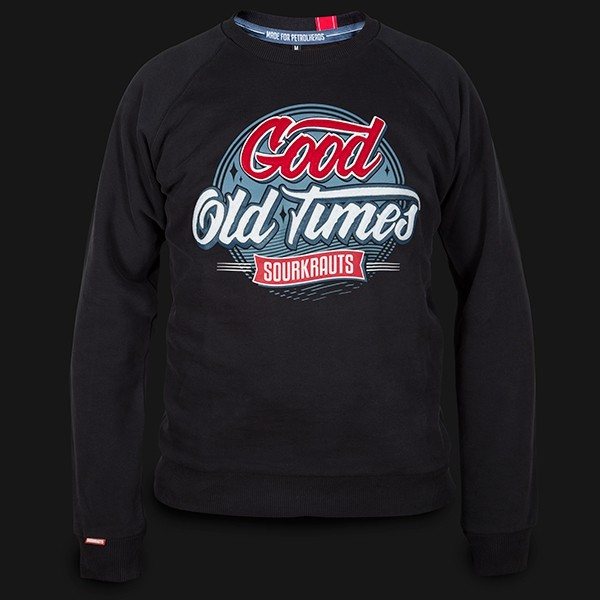Sweatshirt Good Old Times black