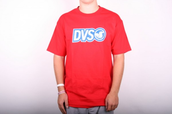 DVS T-shirt Core 2 Red