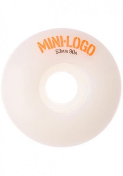 Mini-Logo C-Cut Wheels 101A 51mm - White