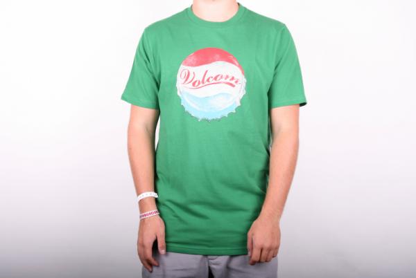 Volcom T-Shirt Thirsty Basic Tee green