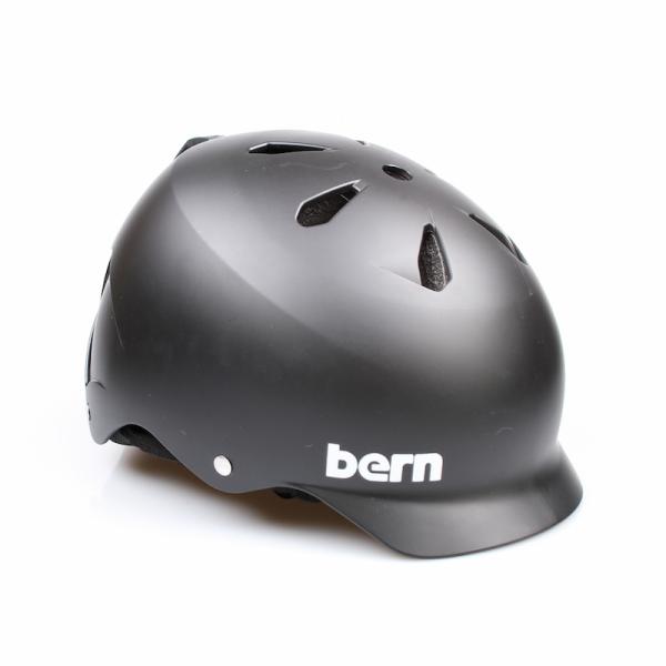 Bern Helm Watts Matte Black (Winter Liner)