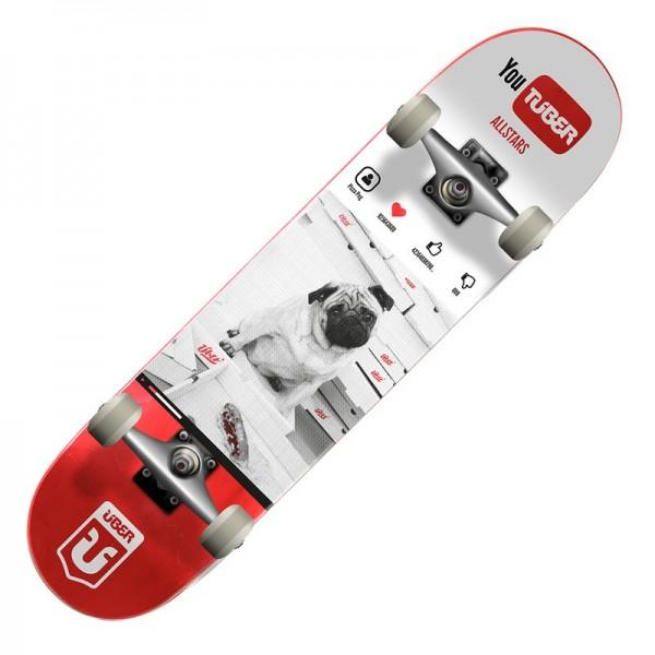 ÜBER Skateboard Complete YouTüber 7.875