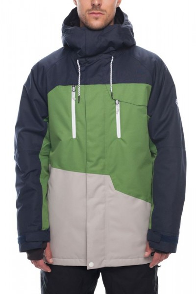 686 Geo Insulated Jacket navy colorblock