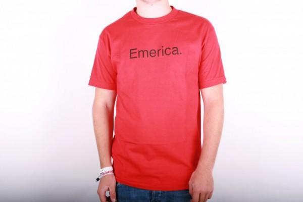 Emerica T-Shirt Pure Men Red