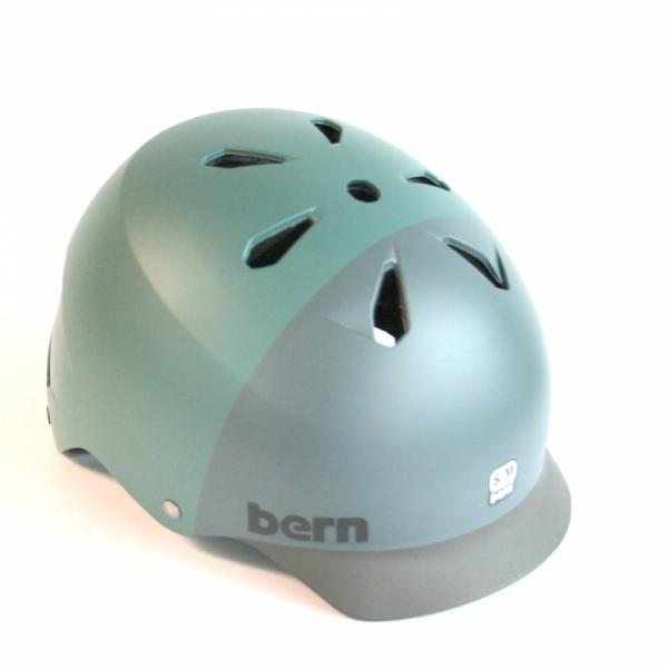"Bern EPS Skate Helm ""Watts"" matte pine / grey"