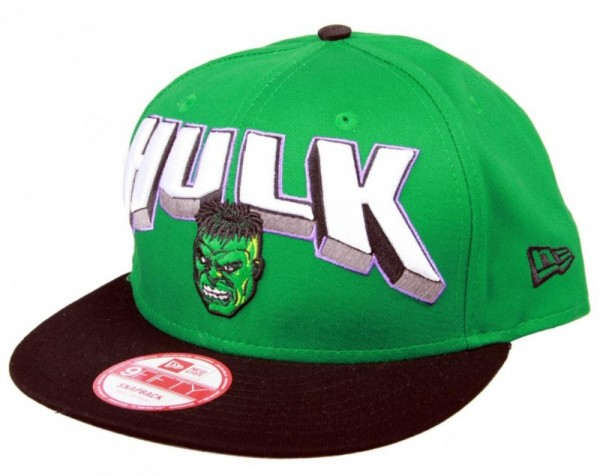 New Era Cap Snapback Hero Block Hulk