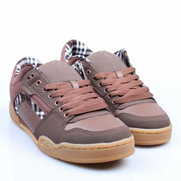 Kustom Schuhe Dekade brown