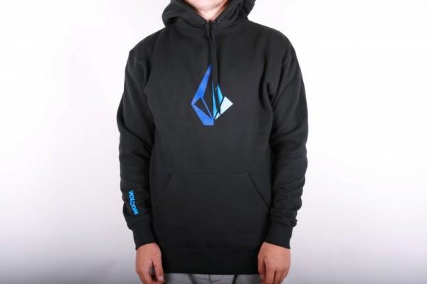 Volcom Distoned Classic Hood Fleece Black