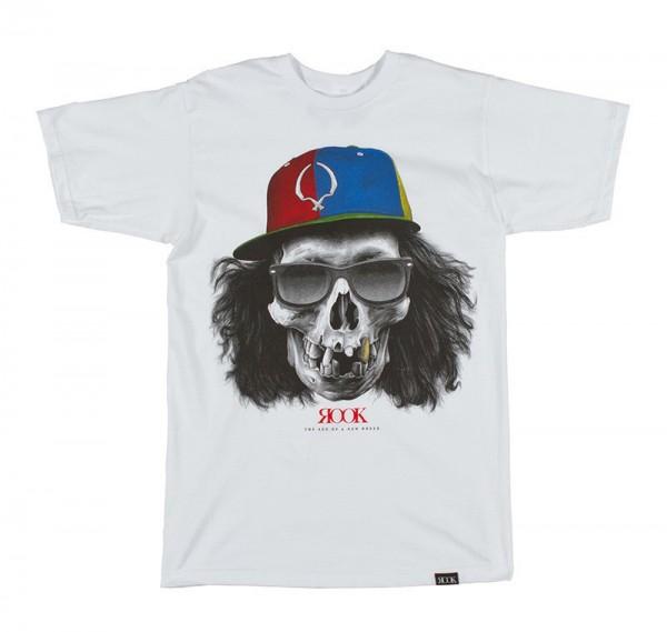 Rook T-Shirt Crossed Skull