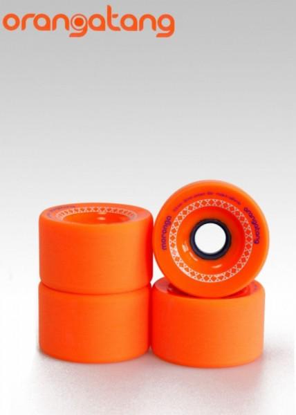 Orangatang Longboard Wheels Moronga 80A 72,5mm 35mm orange
