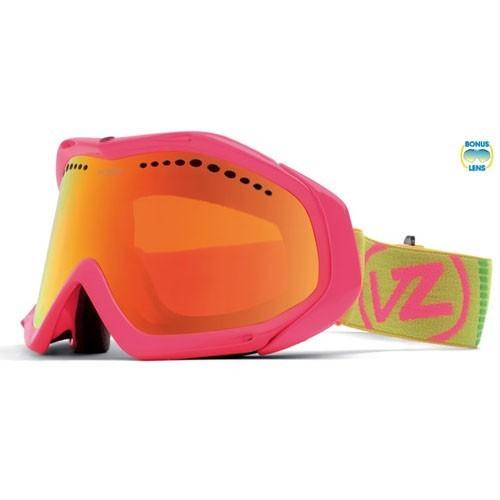 Vonzipper Goggle Color clash-pink/fire-chrome