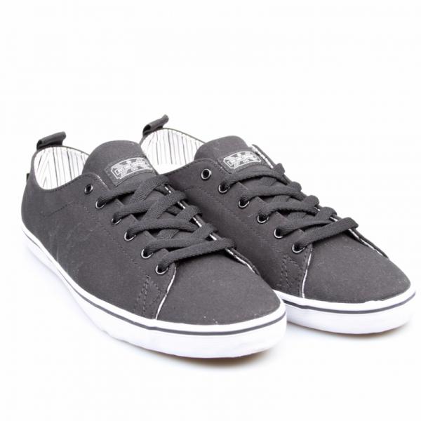 DVS Schuhe Rehab Black Canvas