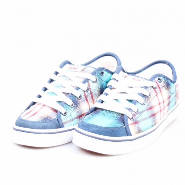 Vans Schuhe DD-66 plaid-navy *women*