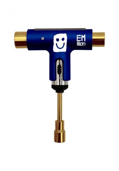EMillion X Silvertool Blau Gold