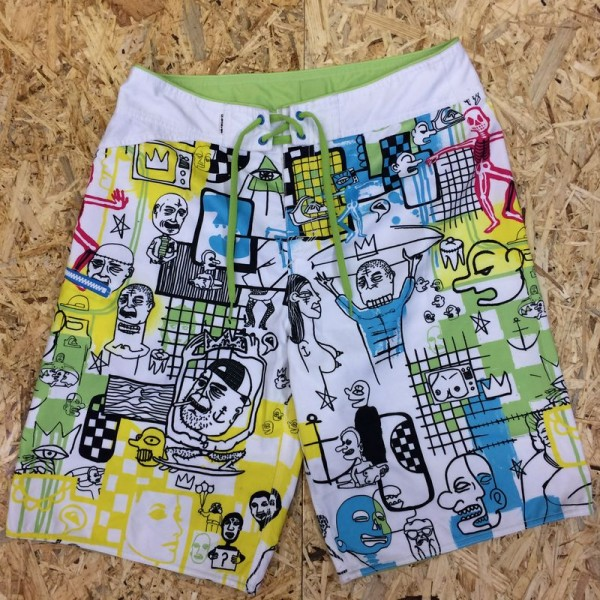 Quiksilver Boardshort Off the Lip white