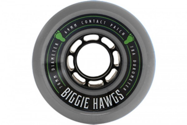 Hawgs Longboard Wheels Biggie Hawgs 70mm 76a - Grey