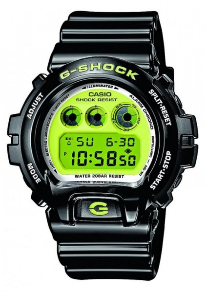 Casio G-Shock Uhr DW-6900CS-1ER black/green