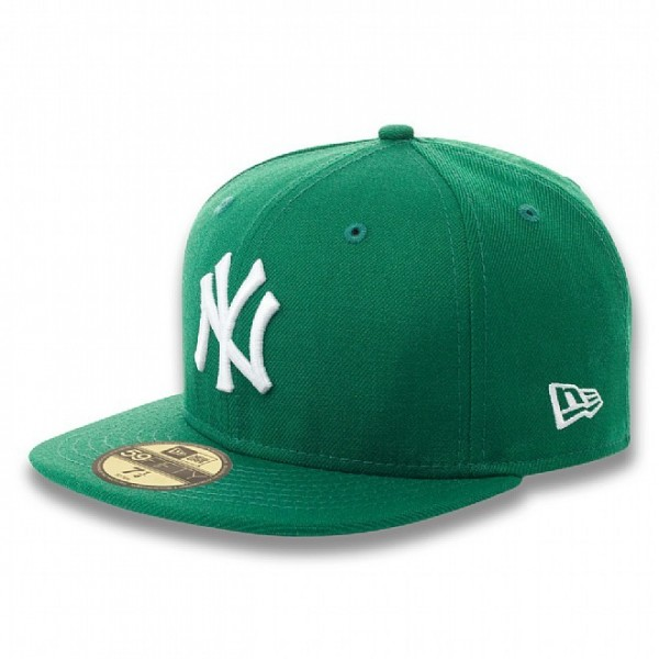 New Era Cap 59-Fifty New York Basic green/white