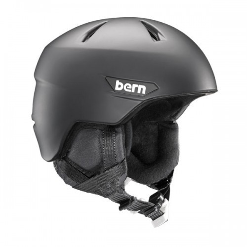 Bern Zipmold Helm Weston with Crankfit - Schwarz
