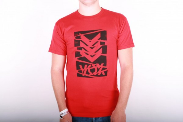 Vox T-shirt Logo red