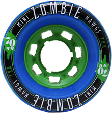Hawgs Longboard Wheels Mini Zombies 78A 70mm - Blue