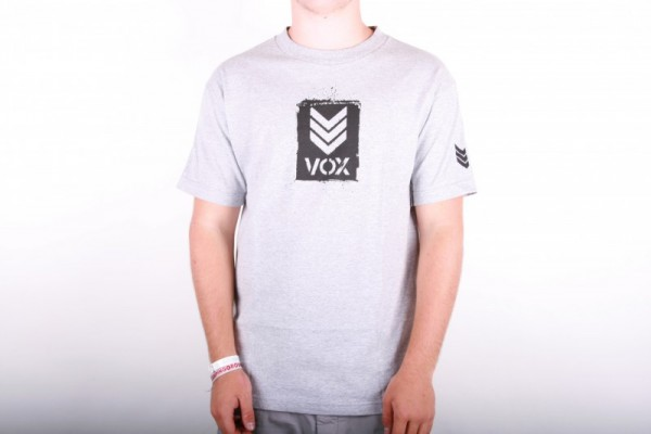 Vox T-shirt Logo grey