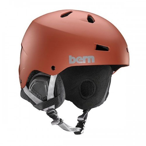 Bern EPS Helm Macon with premium BOA Liner - Oxblood