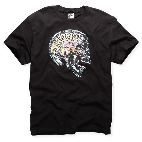 Fox T-shirt Brainwave black