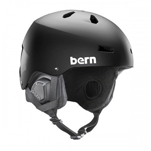 Bern EPS Helm Macon with 8Tracks Crankfit Liner - Schwarz