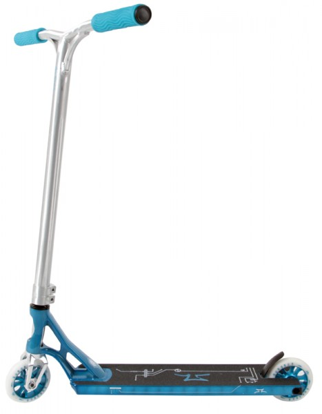 AO Scooters Quadrum 2 Complete Turquoise