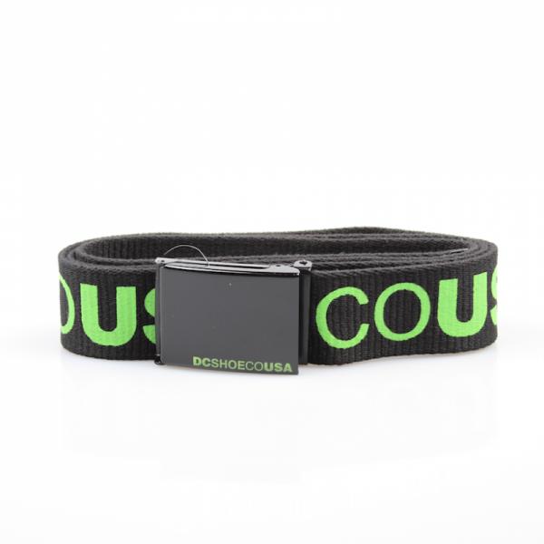 DC Reversible Belt Chinook 5 Black/Green