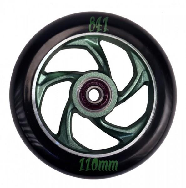 841 Forged 5-Star III Wheel Green inkl Titen Abec 9 Bearings