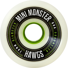 Hawgs Longboard Wheels Mini Monsters 70mm 80a White
