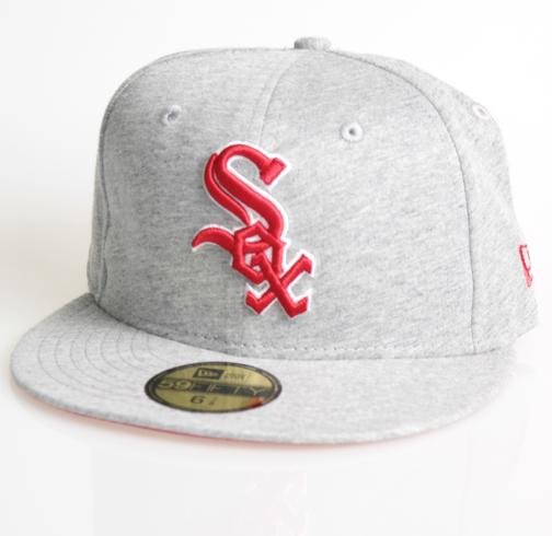 New Era Cap 59-Fifty Jersey Basic 2 White Sox grey/scarlet