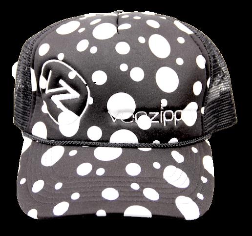 Vonzipper Trucker Cap Moby Dots black