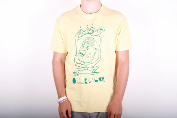 Quiksilver T-shirt The King of Truck - Yellow