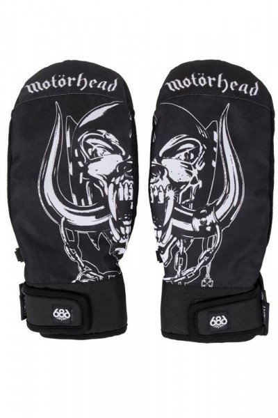 686 Motorhead Mountain Mitt Glove black