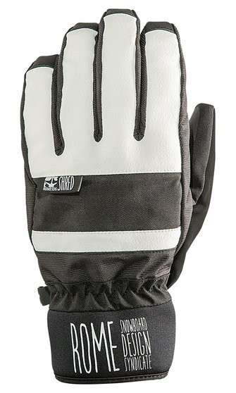 Rome Gloves Focus White