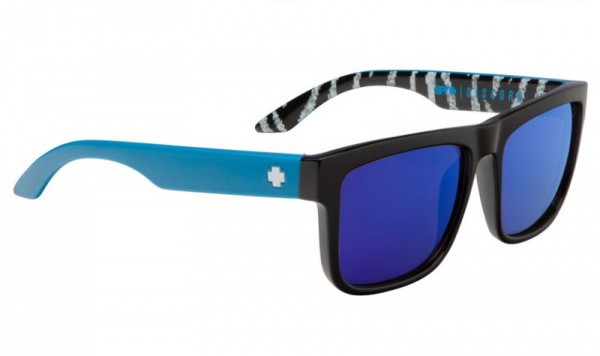 Spy Sunglasses Discord - KB Livery Black - Happy Bro W/ DK Blue Spec