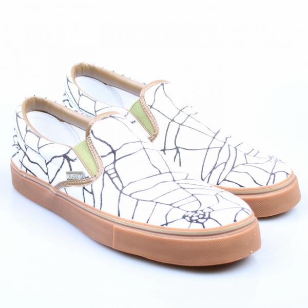 Kustom Schuhe Easy Cracked Slipper
