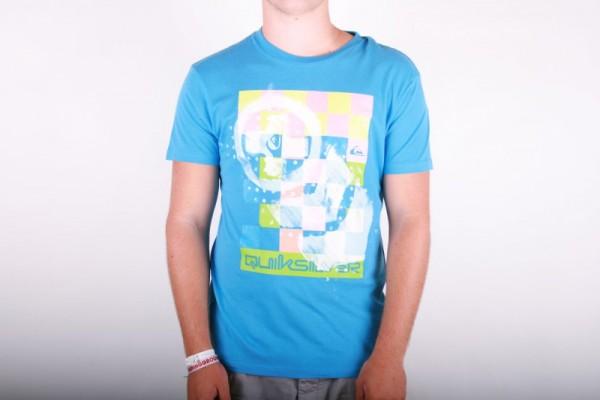 Quiksilver T-shirt Electrolution blue