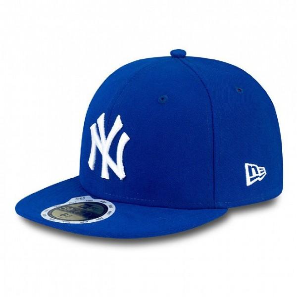 New Era Cap 59-Fifty MLB League Basic New York Yankees Royal/Wht *Youth*