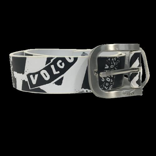 Volcom PU Belt Bolder White/Black