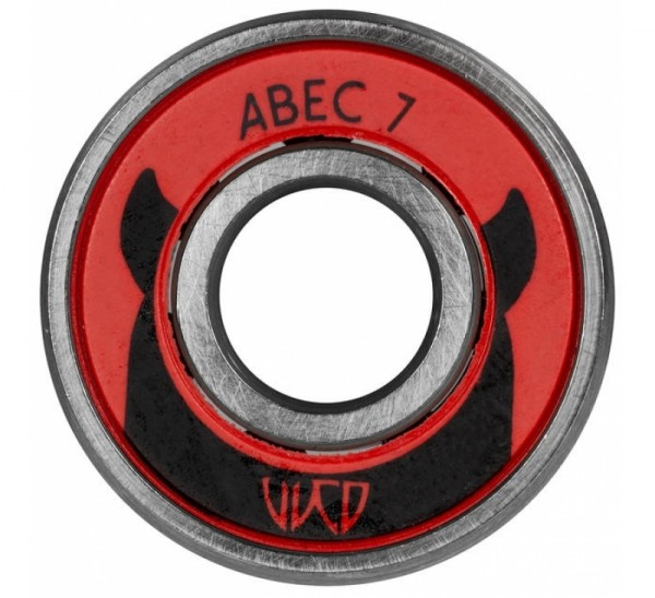 Wicked Bearings Abec 7 Carbon Pro, Single