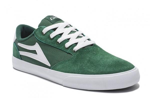 Lakai Schuhe Pico green/white suede