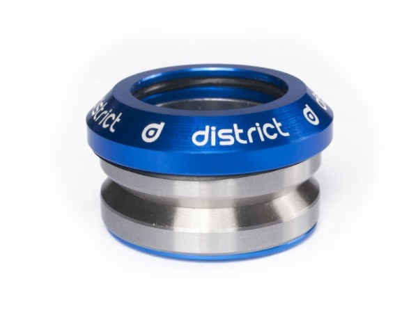 District Headset Integrated Blue