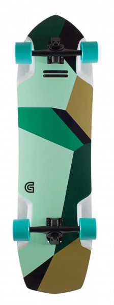 Gold Coast Longboard Complete Azurite