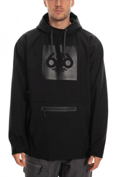 686 MNS Waterproof Hoody black