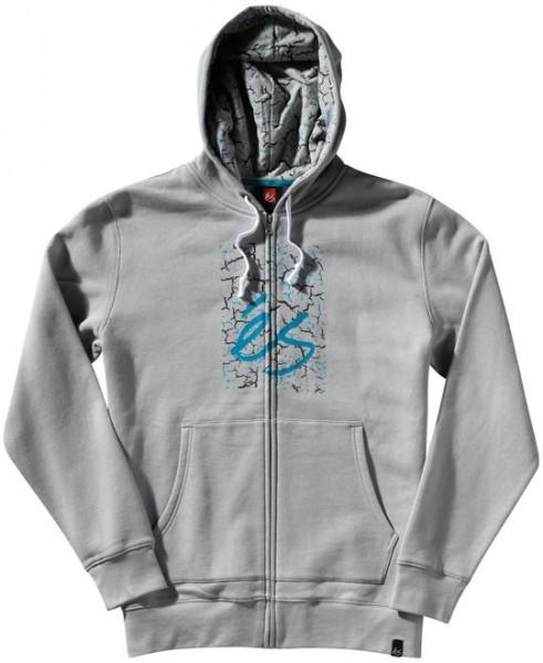 és Zip Hooded Crackle MB grey